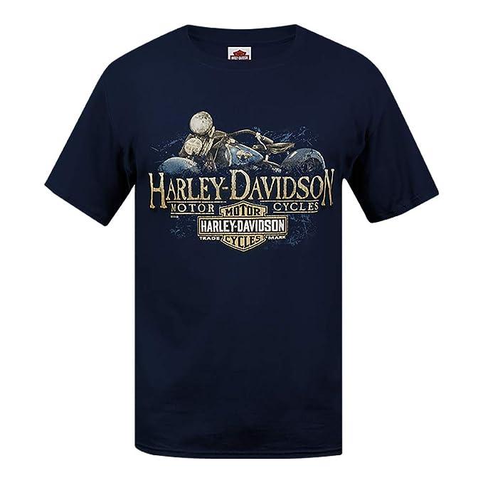 HARLEY-DAVIDSON® Old Blue T-Shirt and Warrs London Wrecking ...