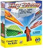 Creativity for Kids Sky Diver Paper Airplanes