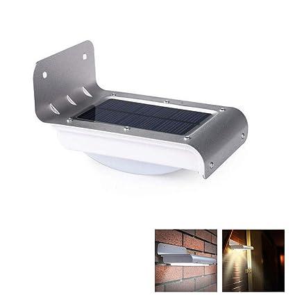 Amazon.com: GZYF 16-LED Solar Power Motion Sensor Light, Wirelss Waterproof Exterior Garden Outdoor Path Security Lamp: Home & Kitchen