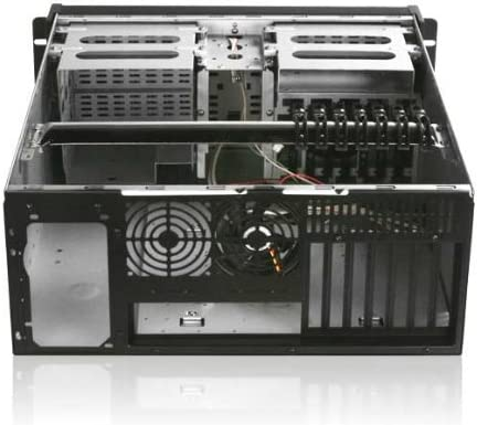 Silver USB 4U Istar Rack-mountable ATX