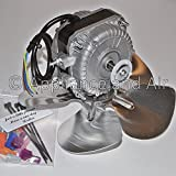 NEW Scotsman A38464-001 Condenser Fan Motor Kit with Blade + Hardware