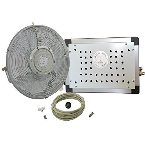 30 Osc Misting Fan Kit Mid Pressure Misting System For