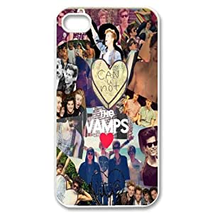 DDOUGS The Vamps DIY Cell Phone Case for Iphone 4,4S, Discount The Vamps Case