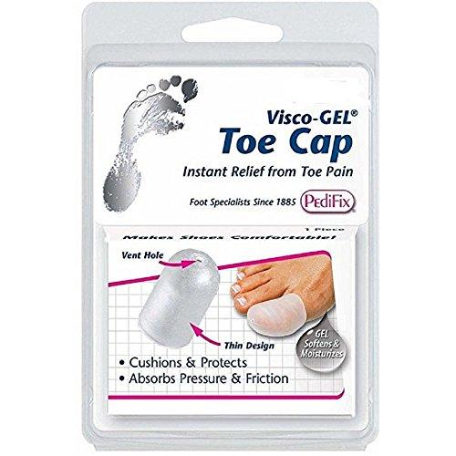 Pedifix Visco-GEL Toe Cap P80XL - Size Extra Large (Gel Toe Visco Pedifix Cap)