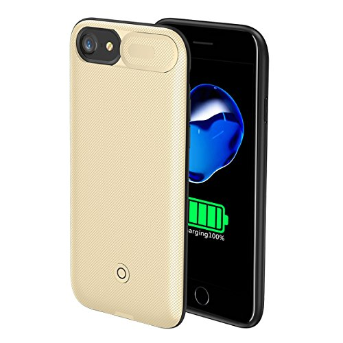 Compatible iPhone 6 Plus Battery Case, FugouSell Portable Rechargeable Extended Backup Battery Charger Cover External Power Bank Case for iPhone 6 Plus ()