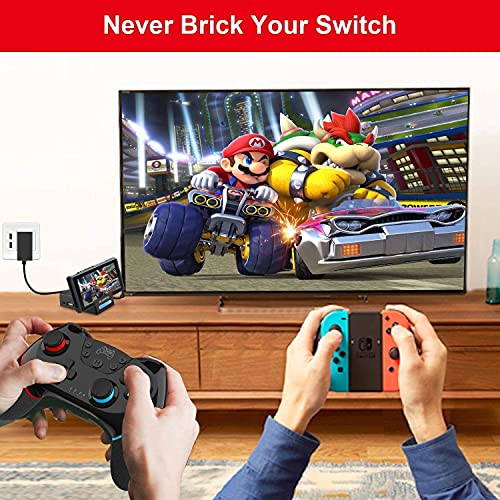 Piy Painting Pocket TV Dock for Switch, PD Protocol Avoids Brick with HDMI and USB 3.0 Port