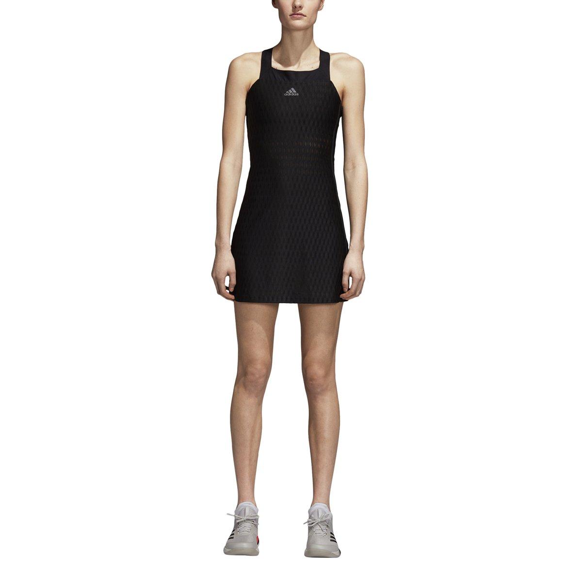 adidas Women's Tennis Barricade Dress, Black, X-Large