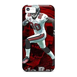 MMZ DIY PHONE CASEiphone 5c QlT8366IlbN Customized Colorful Tampa Bay Buccaneers Skin Shock-Absorbing Cell-phone Hard Cover -JacquieWasylnuk
