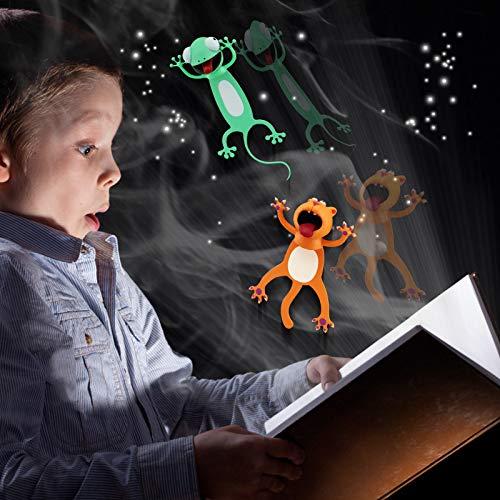 Wacky Bookmarks,3D Cartoon Bookmark Funny and Original Bookmark,Boys and Grils Cute Bookmarks(2Pcs)