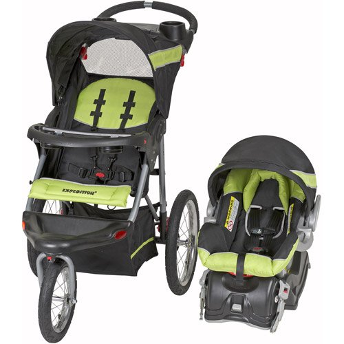 Baby Trend Expedition Travel System with Stroller and Car Seat, Electric Lime by Baby Trend
