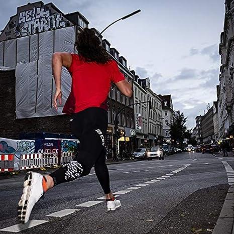 CEP Made by medi extrem funktionale und Bequeme Sportleggins Run /¾ Tights 3.0 Laufhose in schwarz f/ür Herren