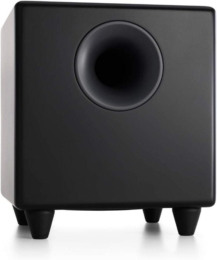 Audioengine S8 250W Powered Subwoofer, Built-in Amplifier (Black)