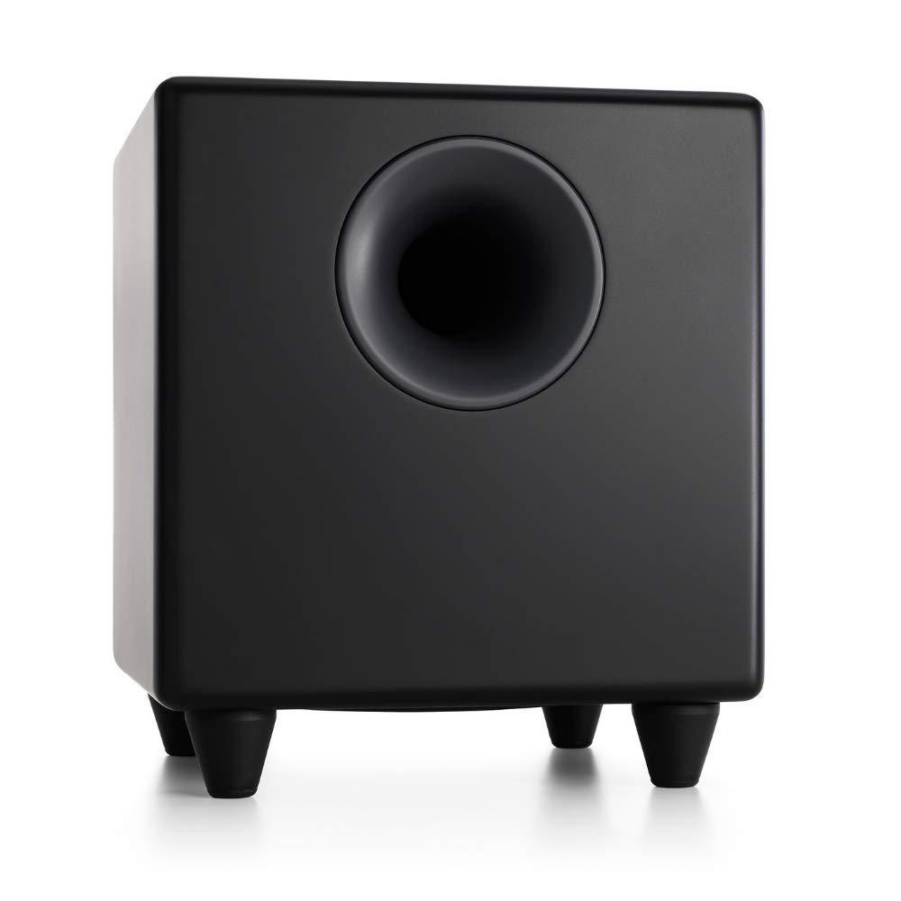 Audioengine S8 250W Powered Subwoofer, Built-in Amplifier (Black) by Audioengine