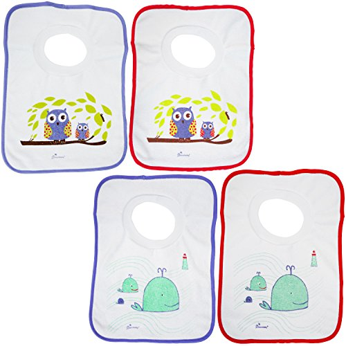 Dreambaby L536 Pullover Bibs 4 Count