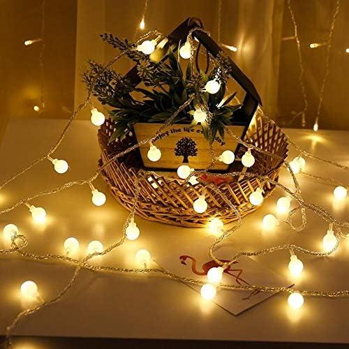 Cadena de Luces Nuevo 10m LED de vacaciones guirnalda de hadas de ...