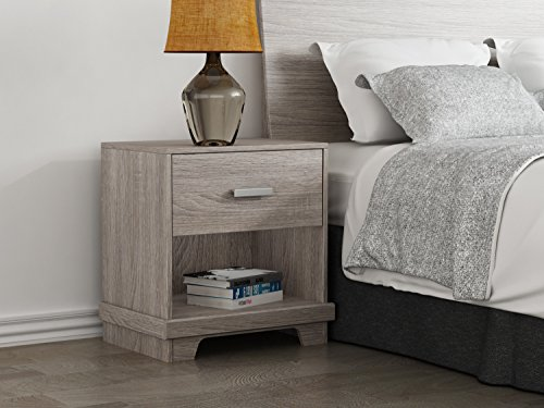 Homestar Albany nightstand in Sonoma Finish ()