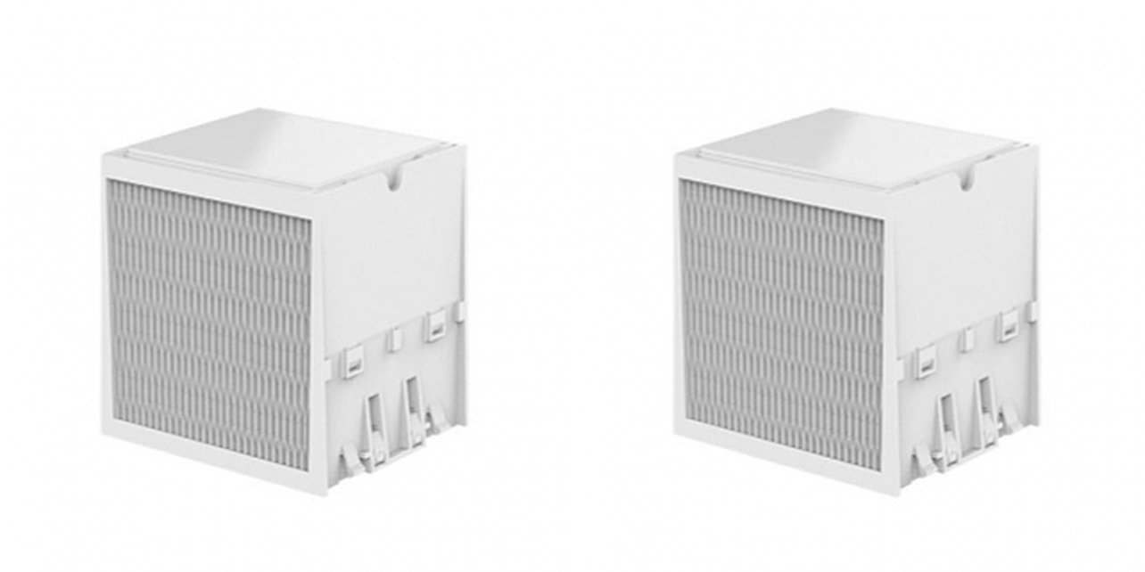 Moai Air Purifier Nano Filters for G2T-ICE Mini Air Cooler - pack of 2