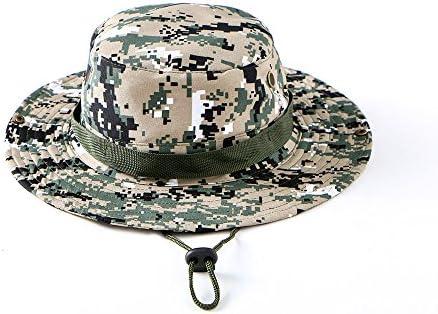Tkas Sun Hat Bucket Hat Boonie Hat Camouflage Camo Hat Safari Fishing  Hunting Military Outdoor UV 10399ef6469