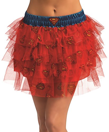 Rubie's DC Comics Superhero Style Skirt With Sequins, Blue, One Size Costume