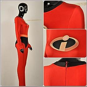 - 51jFPnDzqvL - Yejue The Incredibles 2 Super Woman Mr. Incredible Zentai Jumpsuit
