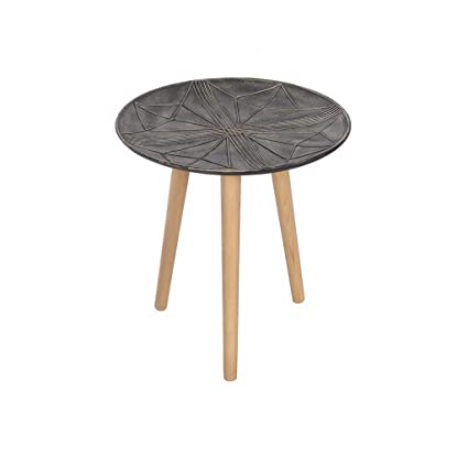 Minmin Resin Flower Stand Modern Minimalist Plant Color Rack Creative Tray  Small Round Table Rack (