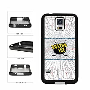 Boston Ice TPU RUBBER SILICONE Phone Case Back Cover Samsung Galaxy S5 I9600