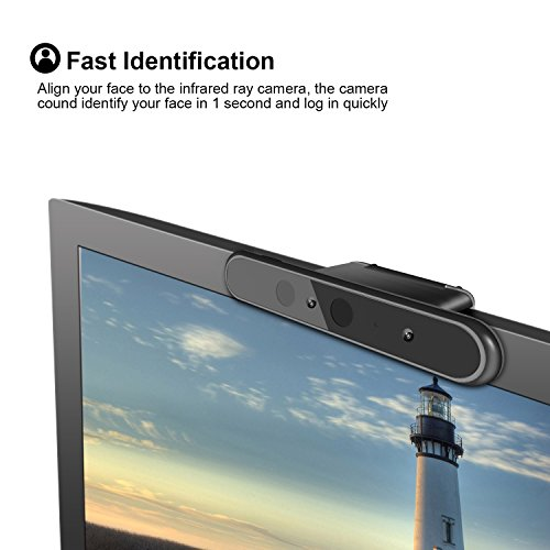 LilBit Face Recognition USB Camera Webcam For Windows Hello, windows 10  system