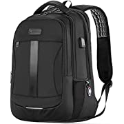 Laptop Backpack, 15.6-17 Inch Sosoon Travel Backpack for Laptop and Notebook, High School College Bookbag for Women Men…