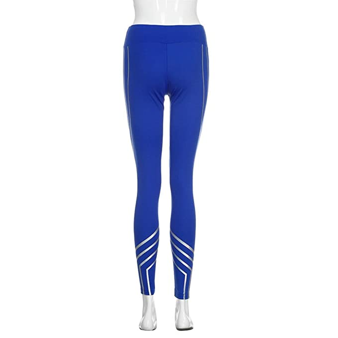 Pantalones Yoga Mujeres, ❤️Xinantime Polainas de Fitness Yoga para Mujeres Running Gym Stretch Sports Pants Pantalones