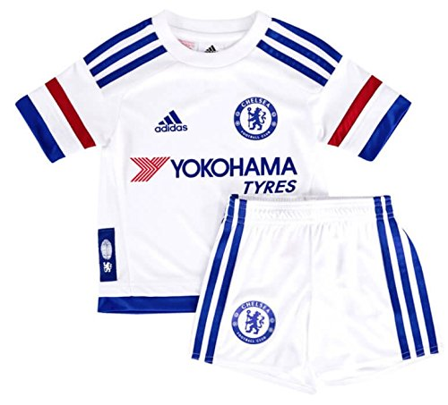 2015-2016 Chelsea Adidas Away Little Boys Mini (Away Little Boys Kit)