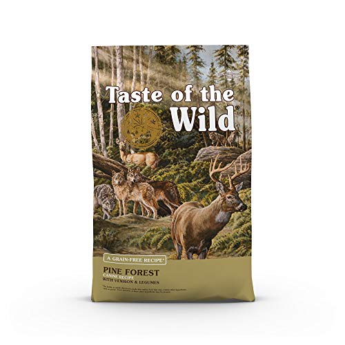 Taste Of The Wild Grain Free High Protein Dry Dog Food Pine Forest – Venison