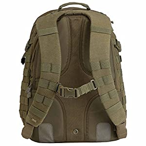 5.11 RUSH24 Military Tactical Backpack, Molle Rucksack Bug Out Bag, Medium, Style 58601, TAC OD