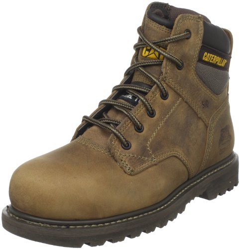 Caterpillar Men's Gunnison Steel Toe Boot,Dark Beige,10 M US