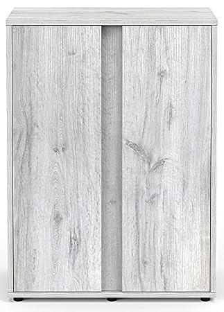 Mueble para Acuario Expert 60 roble blanco Aquatlantis: Amazon.es: Productos para mascotas