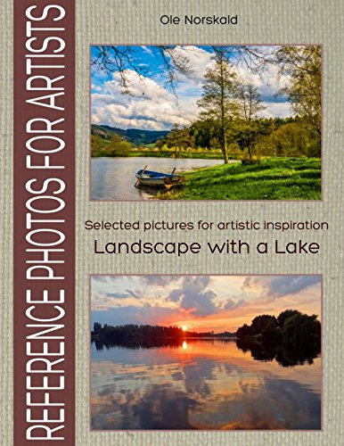 Landscape with a Lake. Selected pictures for artistic inspiration: Reference Photos for Artists