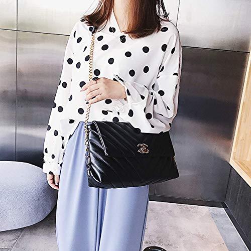 Petit Sac Rhombic Couches Diagonal Sauvage 2019 Black Sacs Soirée Main Marée Wrap V Mode De Bandoulière À Femme Bébé motif Parfum EwwqYC
