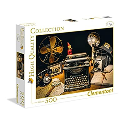 Clementoni 35040 High Quality Collection Puzzle Typewriter 500 Pezzi