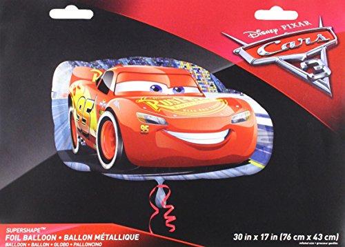Anagram 35370 Cars Lightning Mcqueen Foil Balloon, 30