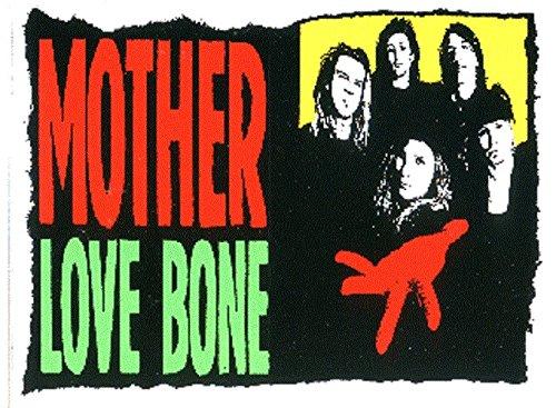 (Mother Love Bone Band Logo Sticker /)