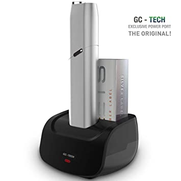 GC® TECH ORIGINAL IQOS 3 - Cargador de mesa para cargador o estación de carga IQOS Multi 3.0 para oficina/casa/carga rápida de coche, accesorios ...