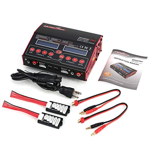 Wikiwand Ultra Power UP 240 AC Duo 2in1 240W Battery RC Balance Charger Discharger by Wikiwand (Image #6)
