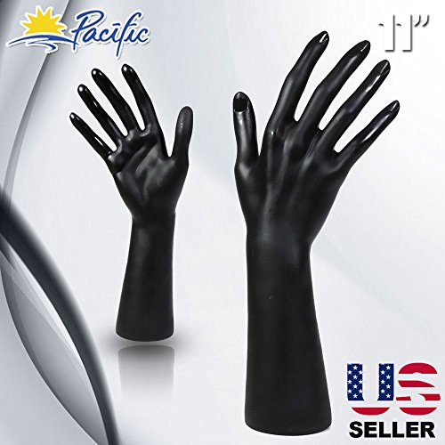 Female Mannequin Hand Display black (Best Only Mannequins® Hands)