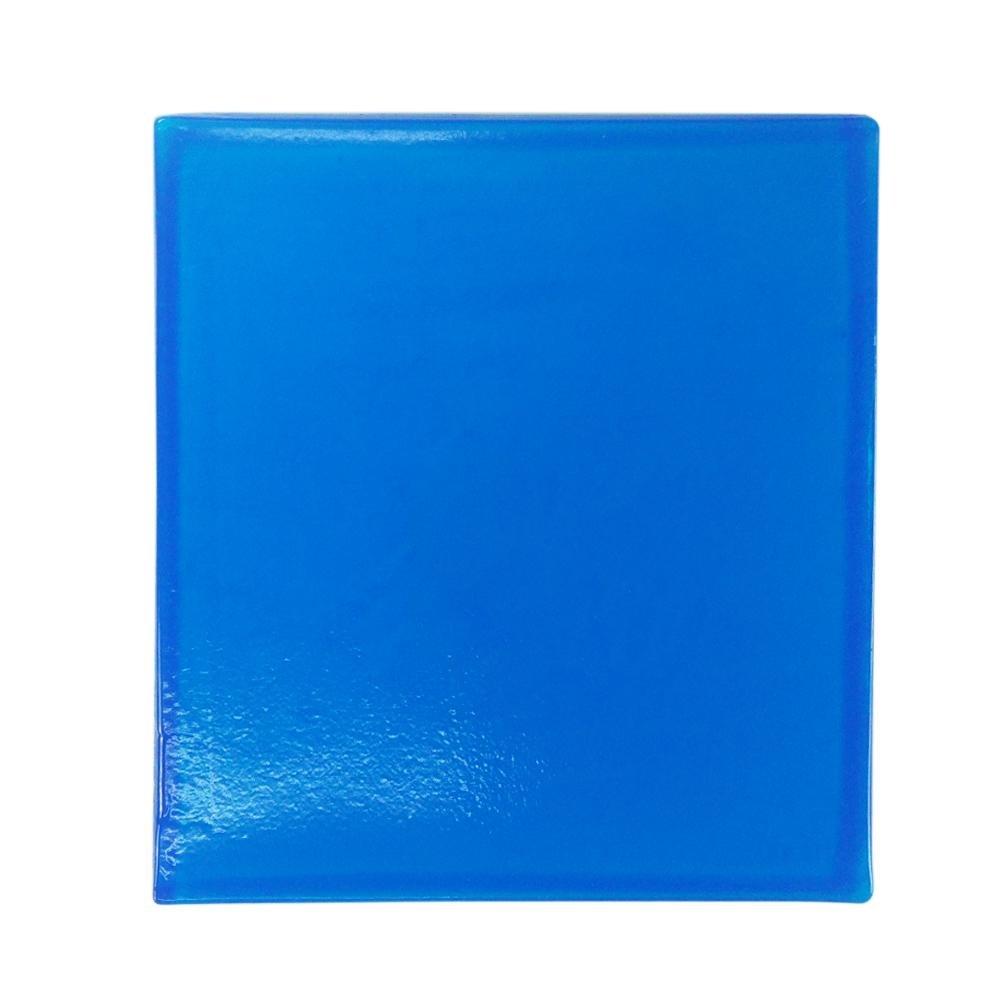 para asiento de moto coj/ín de gel de asiento de moto color azul c/ómodo suave Coj/ín de gel para moto Domybest absorbente de golpes