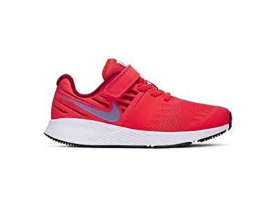new product 1b7f4 5e2c0 Nike Boy's Star Runner (PS) Pre School Shoe Bright Crimson/Blue Lagoon/Gym  Red/White Size 12 Kids US