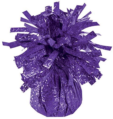 Balloon Weights Holographic Purple (12/Pkg) Pkg/1