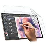 TiMOVO Like Paper Screen Protector Compatible with Galaxy Tab S7 Plus/S7+, [2 Pack] Anti-Scratch/Anti-Fingerprint/Anti-Glare/Writing Smooth PET Screen Protector Film Fit Galaxy Tab S7 Plus/S7+ - Matte