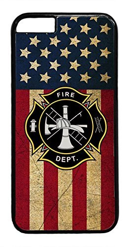 Rhino Armour Slim Ultra Premium Case -U.S Firefighter Fire Rescue dept. Fireman Logo o.ck Case Cover Rubber Plastic Black Case Cover for iPhone XR(2018 Model) Includes 1 Screen Protector