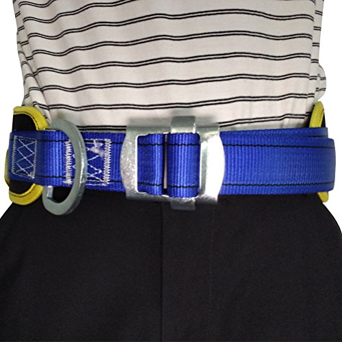 Aoneky Body Belt with Hip Pad and Side D-Ring, Fall Arrest Safety Harnesses by Aoneky (Image #4)