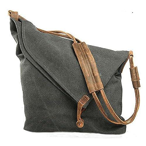 Waxed Canvas Bag: Amazon.com