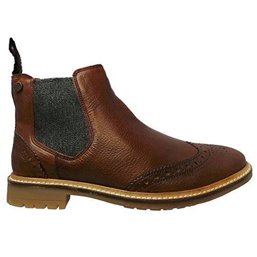 Tan Superdry Brogue Brad Chelsea Boot RgRqZaAx
